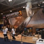 Uncharted 3 booth