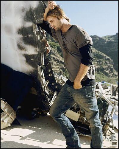 Josh Holloway as Sawyer