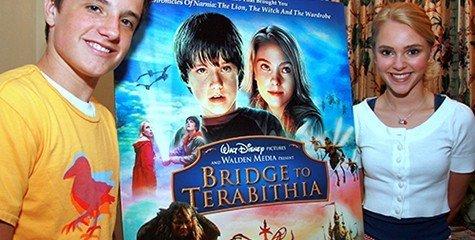 Josh Hutcherson and AnnaSophia Robb