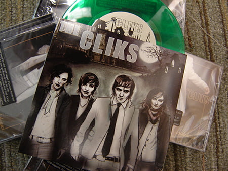 The Cliks 7 inch vinyl
