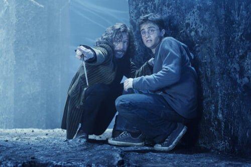 Gary Oldman and Daniel Radcliffe