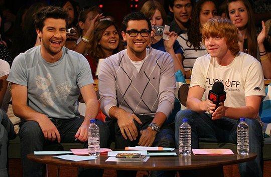 Rupert Grint at MTV Live