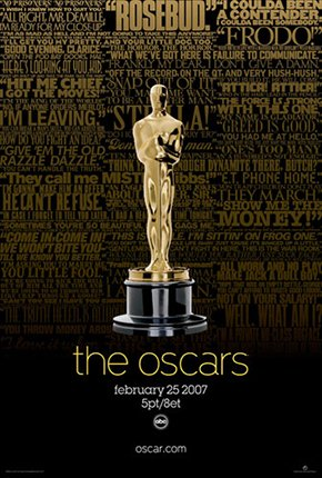 2007 Oscar Poster