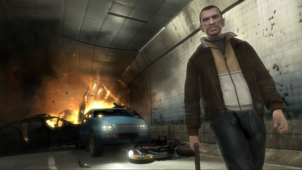 Niko Bellic in Grand Theft Auto IV
