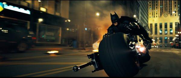 The Dark Knight: Bat-Pod