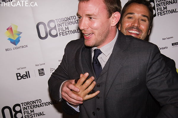 Guy Ritchie and Jeremy Piven