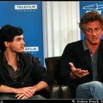 Emile Hirsch and Sean Penn
