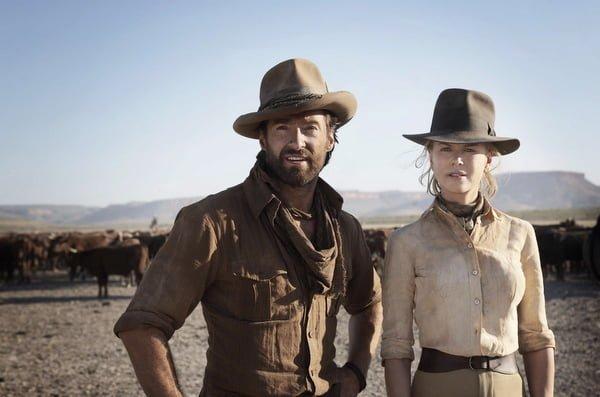 Hugh Jackman and Nicole Kidman in Australia