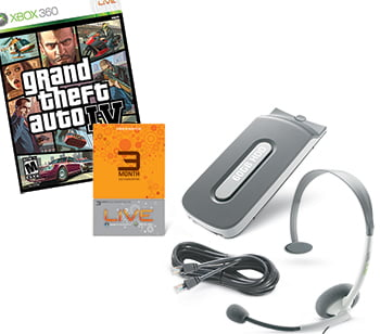 GTA IV Prize Pack