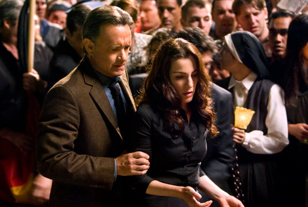 Tom Hanks and Ayelet Zurer in Angels & Demons