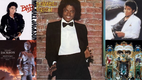 Michael Jackson - The first five albums