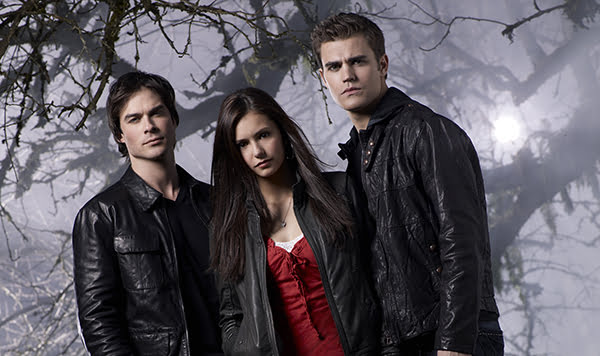 Ian Somerhalder, Nina Dobrev and Paul Wesley in The Vampire Diaries