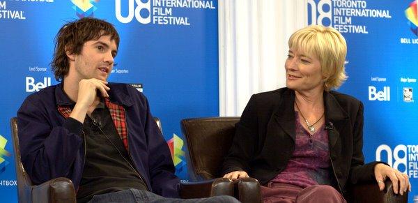 Jim Sturgess and Kari Skogland at the 2008 TIFF