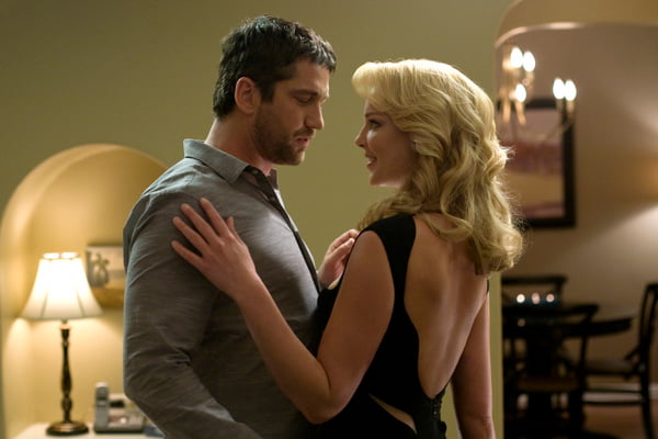 Gerard Butler and Katherine Heigl in The Ugly Truth