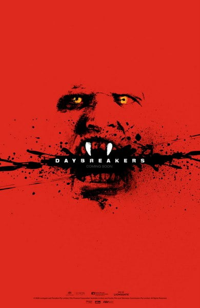 Daybreakers - poster