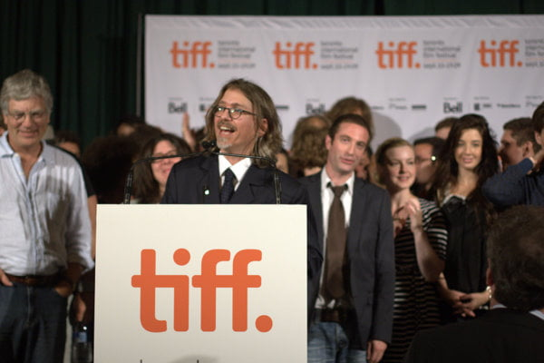 TIFF programmer Steve Gravestock introduces the Canadian talent