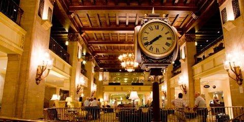 Royal York Hotel - Lobby clock