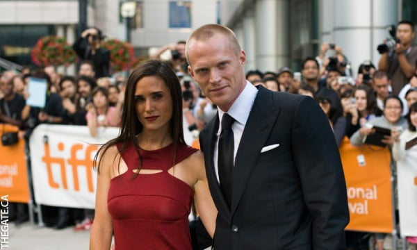 Jennifer Connelly & Paul Bettany on the red carpet for Creation