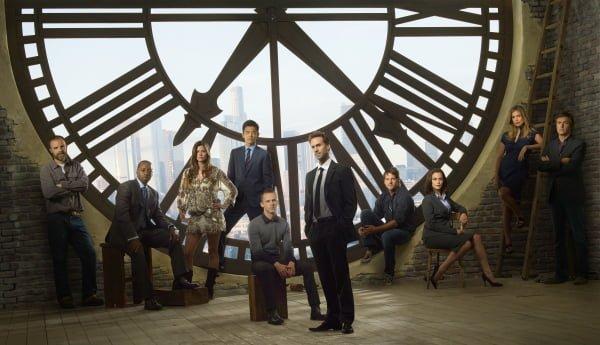 The cast of FlashForward