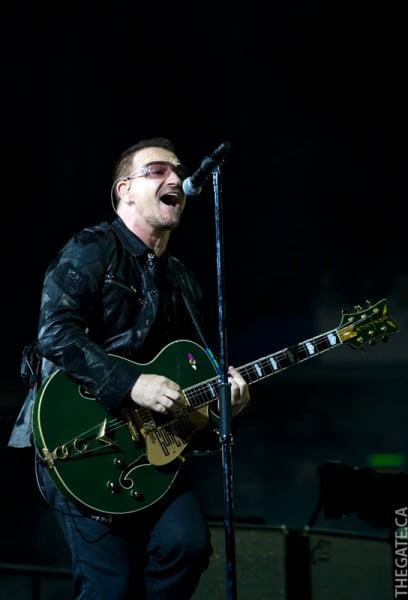 U2 360 Tour in Toronto - Bono