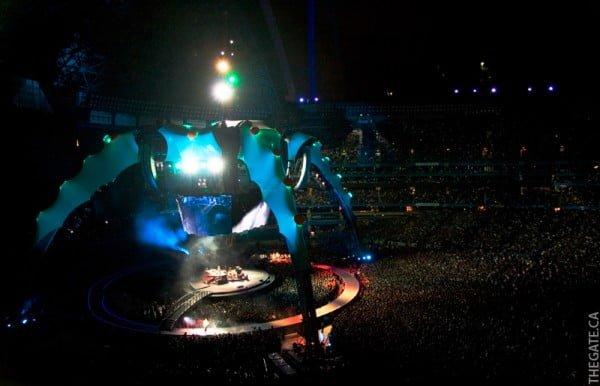 U2 360 Tour in Toronto - Stage view