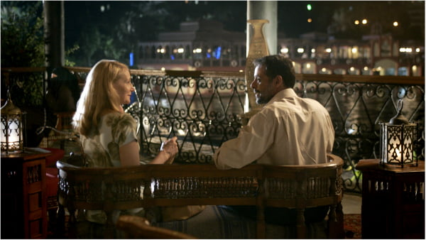 Patricia Clarkson and Alexander Siddig in 'CairoTime'