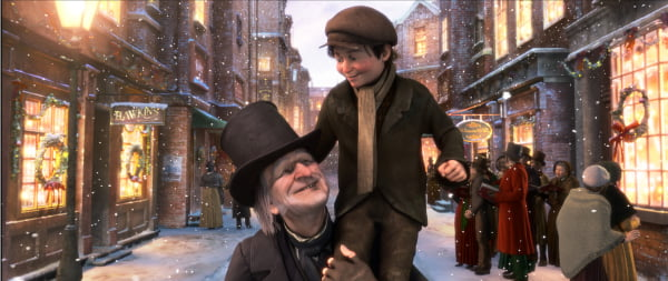 A scene from Disney's 'A-Christmas-Carol'