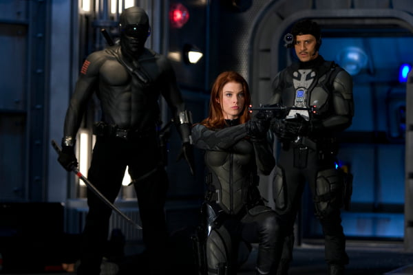 A scene from G.I. Joe: The Rise of Cobra