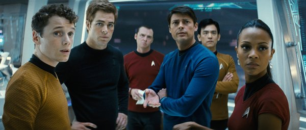 The cast of 'Star Trek'