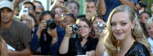 Amanda Seyfried on the red carpet for Atom Egoyan's Chloe