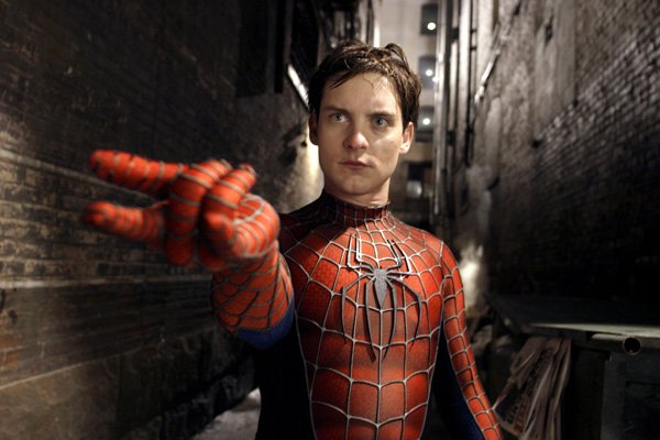 Tobey Maguire in 'Spider-Man 2'