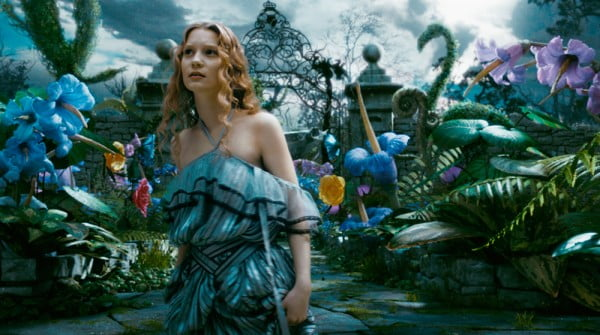 Mia Wasilkowska wanders Underland in Alice In Wonderland