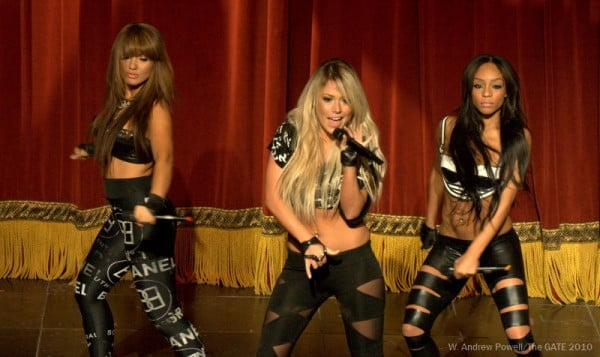 The ladies of Girlicious at CHUM Fanfest