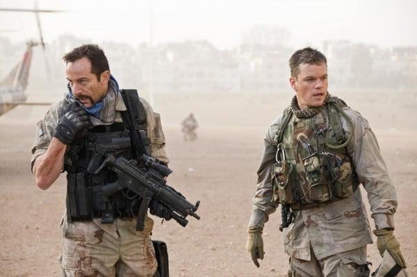 A scene from Green Zone starring Matt Damon