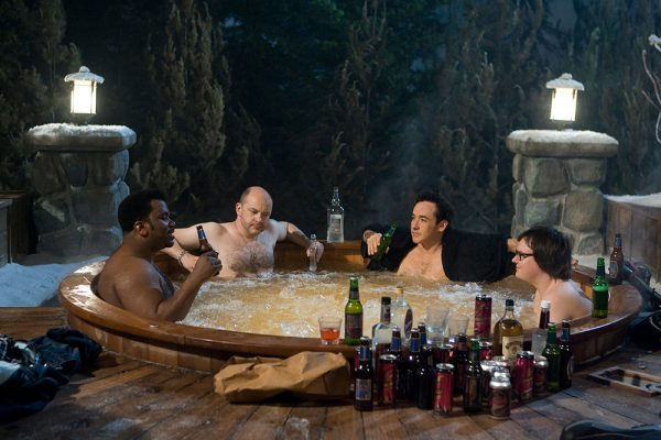 A scene from Hot Tub Time Machine with John Cusack