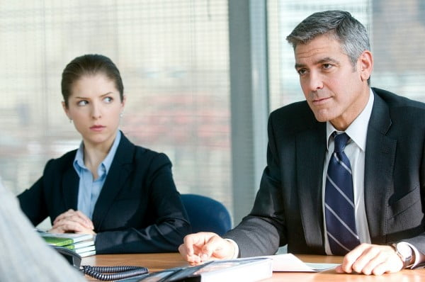 Anna Kendrick and George Clooney in Up In The Air