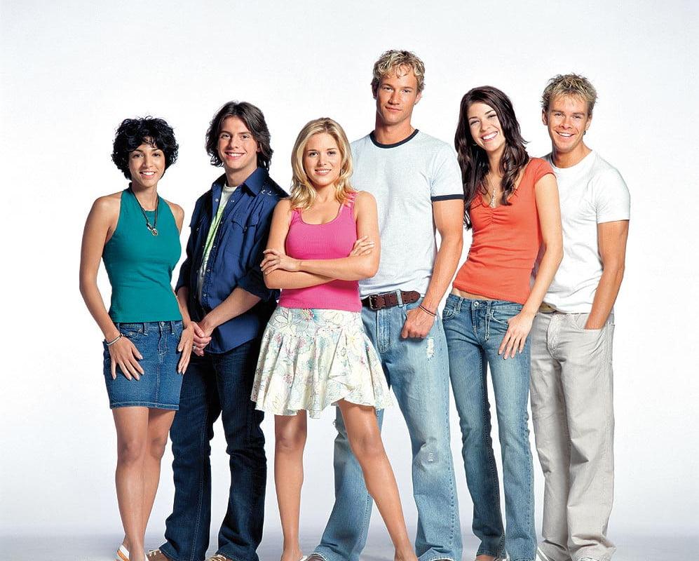 The cast of Falcon Beach