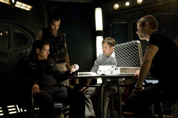 A scene from Stargate Universe: Episode 11 - Space