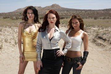 Julia Voth, Erin Cummings and America Olivo in Bitch Slap