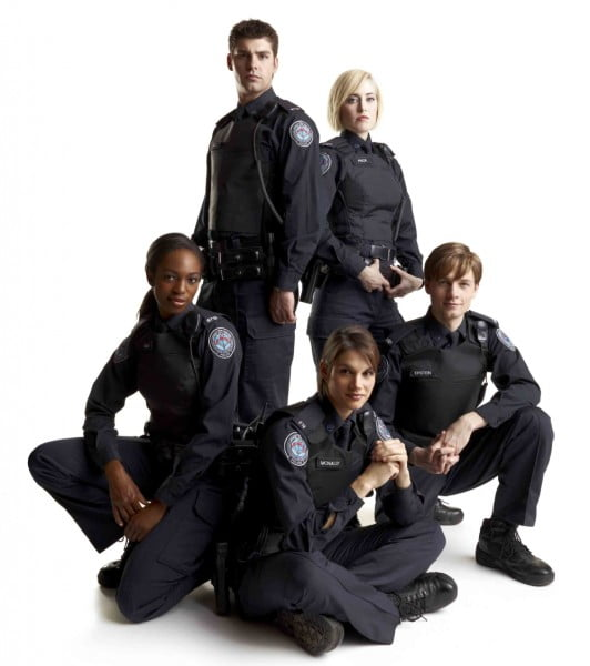 The Cast of Rookie Blue