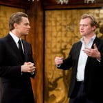 Leonardo DiCaprio and director Christopher Nolan
