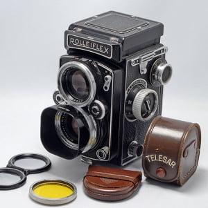 Rolleiflex 2.8D TLR camera