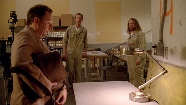 Michael Emerson in a scene from Lost's The New Man In Charge