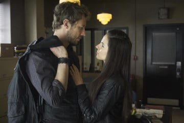 Kris Holden-Ried and Anna Silk from Lost Girl