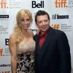 Theo Fleury and his wife Jennifer