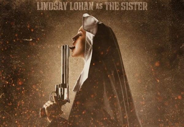 Lindsay Lohan as the Nun in Machete