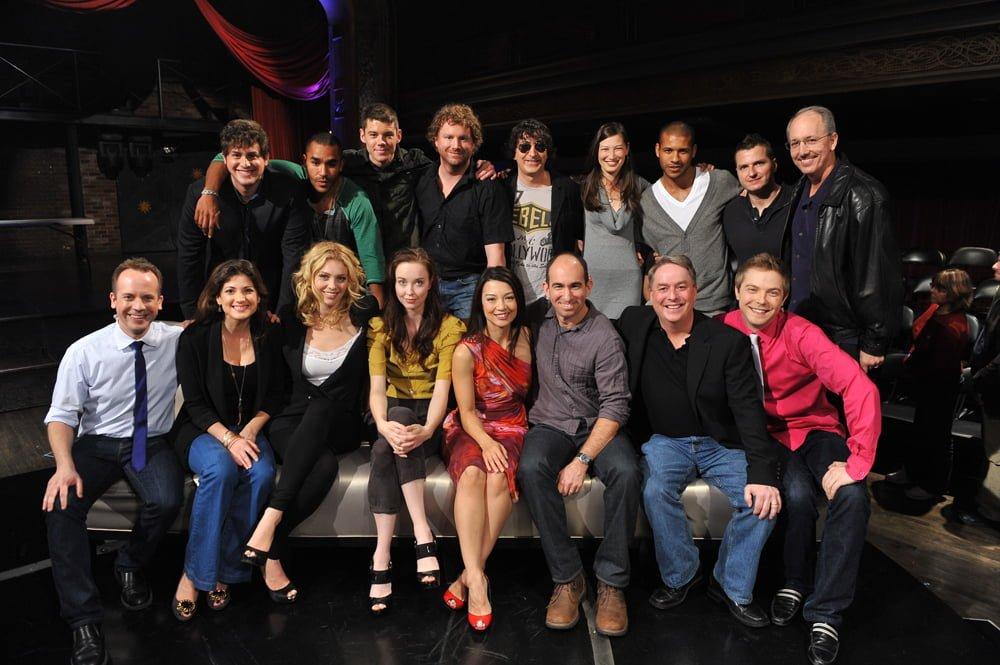 The cast of Stargate Universe