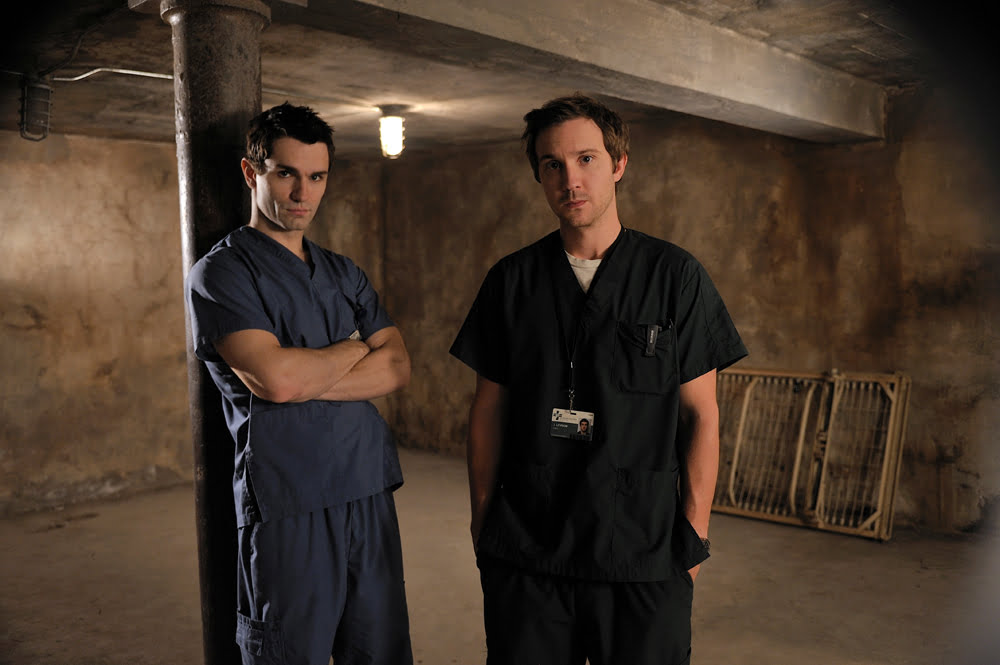 Sam Witwer and Sam Huntington as Aidan and Josh in Being Human
