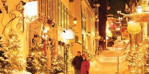 Quebec City's Rue du Petit-Champlain