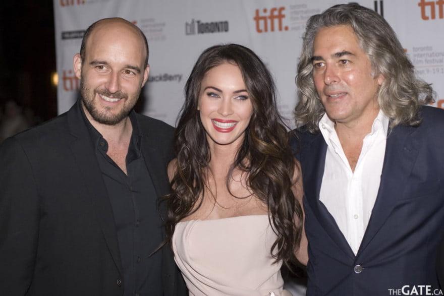 Daniel Dubiecki, Megan Fox and Mitch Glazer
